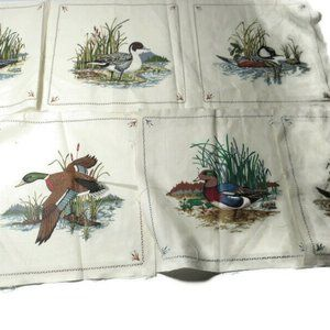 """Other - VTG Cotton Quilt Pre-Printed 8""""x8"""" Panel Squares"""